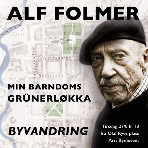 Byvandring med Alf Folmer